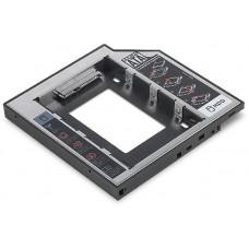Digitus Instalační rámeček SSD/HDD pro slot pro jednotky CD/DVD/Blu-ray, SATA až SATA III