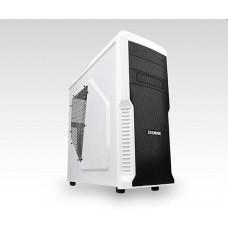 ZALMAN case Zalman miditower Z3 Plus, mATX/ATX, průhledný bok, bez zdroje, USB3.0, černo-bílá