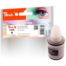 Peach kompatibilní cartridge Canon CISS GI-490, Black, 135 ml