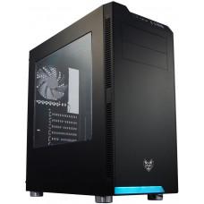 FORTRON/FSP FSP/Fortron ATX Midi Tower CMT240 Black, průhledná bočnice