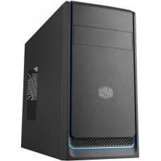 COOLER MASTER case Cooler Master MasterBox E300L, modrý rámeček, Micro-ATX, 2x USB 3.0, bez zdroje
