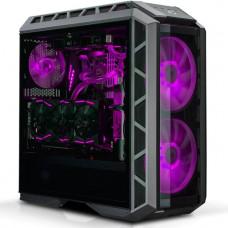 COOLER MASTER case Cooler Master MasterCase H500P, ATX, černý, USB3.0, bez zdroje