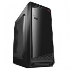 GEMBIRD Case Fornax300 Midi ATX/Micro USB 3.0 Black