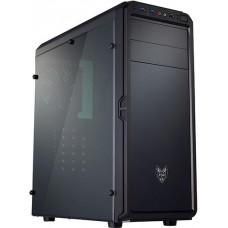 FORTRON/FSP FSP/Fortron ATX Midi Tower CMT120A Black, průhledná bočnice