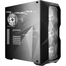 COOLER MASTER case Cooler Master MasterBox TD500L, 2x USB3.0, design diamantového řezu, černá, ATX