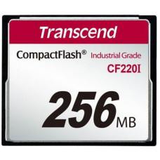 Transcend 256MB INDUSTRIAL TEMP CF220I CF CARD (SLC) Fixed disk and UDMA5