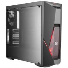 COOLER MASTER case Cooler Master MasterBox K500L ,herní ATX, 2x červené LED ventilátory, 2x USB3.0