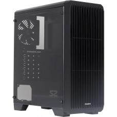 ZALMAN case Zalman miditower S2, ATX/mATX/Mini-ITX, bez zdroje, USB3.0, černá