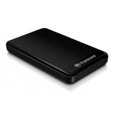"""Transcend 2TB StoreJet 25A3, 2.5"""", USB 3.0 (3.1 Gen 1) Stylový externí odolný hard disk, černý se"""