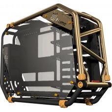 IN WIN skříň In Win D-FRAME 2.0 black/gold + 1065W zdroj
