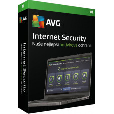 AVG _Nová Licence AVG Internet Security pro Windows 1 lic. (36 měs.) SN Email ESD