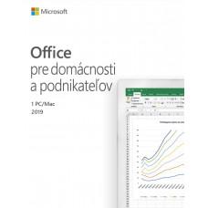 MICROSOFT Office 2019 pro domácnosti a podnikatele SK