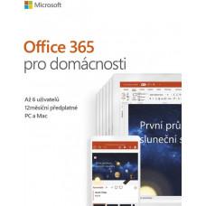 MICROSOFT Office 365 Home 32-bit/x64 SK pronájem P4
