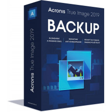 ACRONIS True Image 2019 - 1 Computer - BOX Upgrade