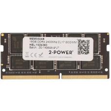 2-Power 16GB PC4-19200S 2400MHz DDR4 CL17 Non-ECC SoDIMM 2Rx8 (DOŽIVOTNÍ ZÁRUKA)