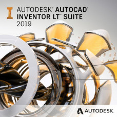 AUTODESK Autocad Inventor LT Suite 2019 Commercial New Single-user ELD 1-Year Subscription