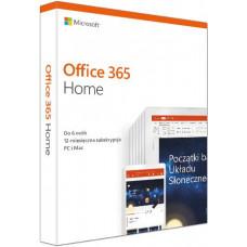 MICROSOFT Office 365 Home Mac/Win Polish Subscription P4