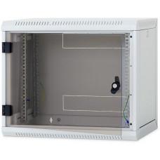 TRITON Nástěnný rack RUA 6U/600mm odn.boč+skl.dv.