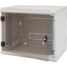 TRITON Nástěnný rack jednodílný 15U (š)600x(h)595 perf.dv
