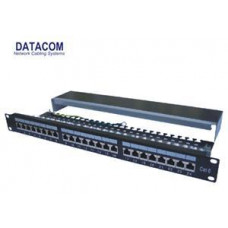 DATACOM Patch panel 24p.CAT6 1U 3x8 LSA, STP 19