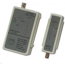 DATACOM Cable Tester LED RJ 45 / BNC