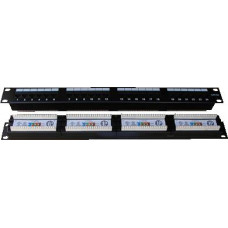 DATACOM Patch panel 24x RJ-45,Cat5e UTP,1U, 19