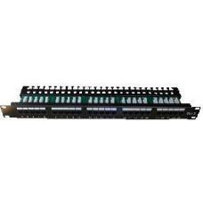 DATACOM Patch panel ISDN 25p.1U Integrovaný  BLACK, 19