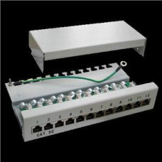 FULL Patch panel Box 12-port Cat5e STP na zed´