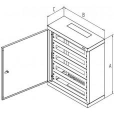 TRITON Rozvaděč instalační na omítku 760x600x250 plech.dv