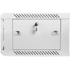 LANBERG Nástěnný rack 19'' 4U 600X450mm šedý flat pack