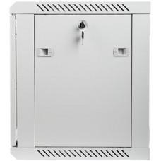 LANBERG Nástěnný rack 19'' 9U 600X450mm šedý flat pack