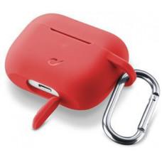 CELLULARLINE Kryt Cellularline Bounce AirPods Pro, červený