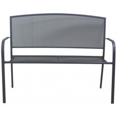 lavička zahradní 116x88x62cm železo ANTR