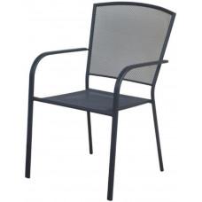 židle zahradní 62x56x89cm železo ANTRACIT