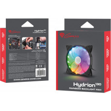 GENESIS Ventilátor Genesis Hydrion 130, dúhové LED podsvícení, 120mm