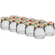 BIOWIN sklenice  30ml + víčka barev. 43 (10ks)