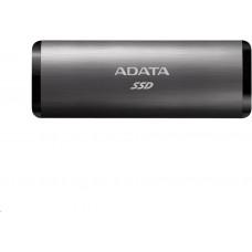 A-Data ADATA External SSD 1TB SE760 USB 3.2 Gen2 type C Titanová šeď