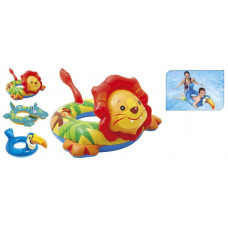 kruh nafukovací se zvířátkem mix dekorů, pro děti 3-6let