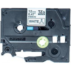 Brother TZE-R231 - kazeta TZ šířky 12mm, TEXTILNÍ páska 4m- pro tvorbu dárků - NELEPÍCÍ - BÍLÁ