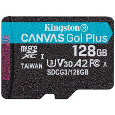 KINGSTON 128GB microSDXC Kingston Canvas Go! Plus A2 U3 V30 170MB/s bez adapteru