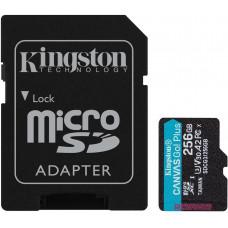 KINGSTON 256GB microSDXC Kingston Canvas Go! Plus A2 U3 V30 170MB/s + adapter