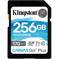 KINGSTON 256GB SDXC Kingston U3 V30 170/90MB/s