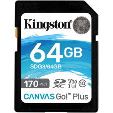 KINGSTON 64GB SDXC Kingston U3 V30 170/70MB/s