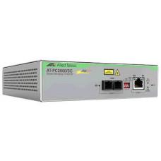 ALLIED TELESIS PC2000/SC-60 PoE+ Switching Media Converter