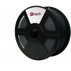 C-Tech Tisková struna (filament) PETG, 1,75mm, 1kg, šedá