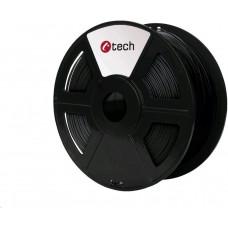 C-Tech Tisková struna (filament) ASA, 1,75mm, 1kg, černá
