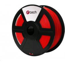 C-Tech Tisková struna (filament) ASA, 1,75mm, 1kg, červená