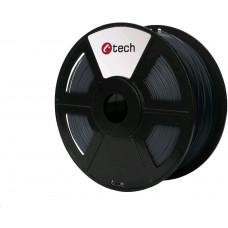 C-Tech Tisková struna (filament) ASA, 1,75mm, 1kg, šedá