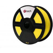 C-Tech Tisková struna (filament) PETG, 1,75mm, 1kg, žlutá