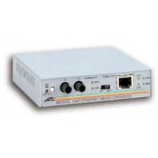 ALLIED TEL sis AT MC101XL - Konvertor médií s optickými vlákny - 10Mb LAN - 100Base-FX, 100Base-TX